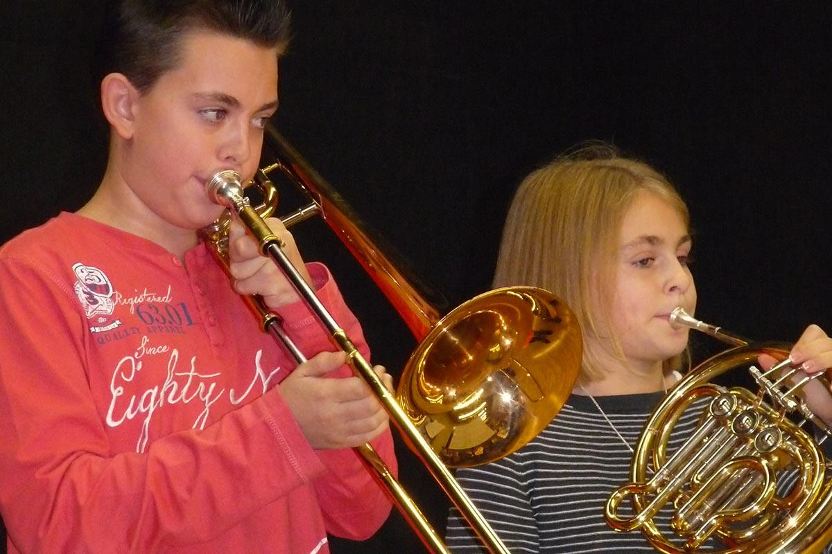 Musikalische Ausbildung im Musikverein Espasingen