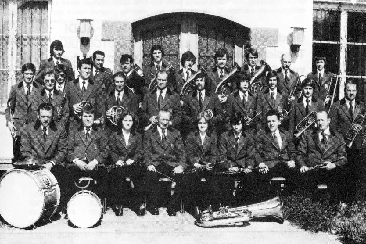 Musikverein im Jahre 1976