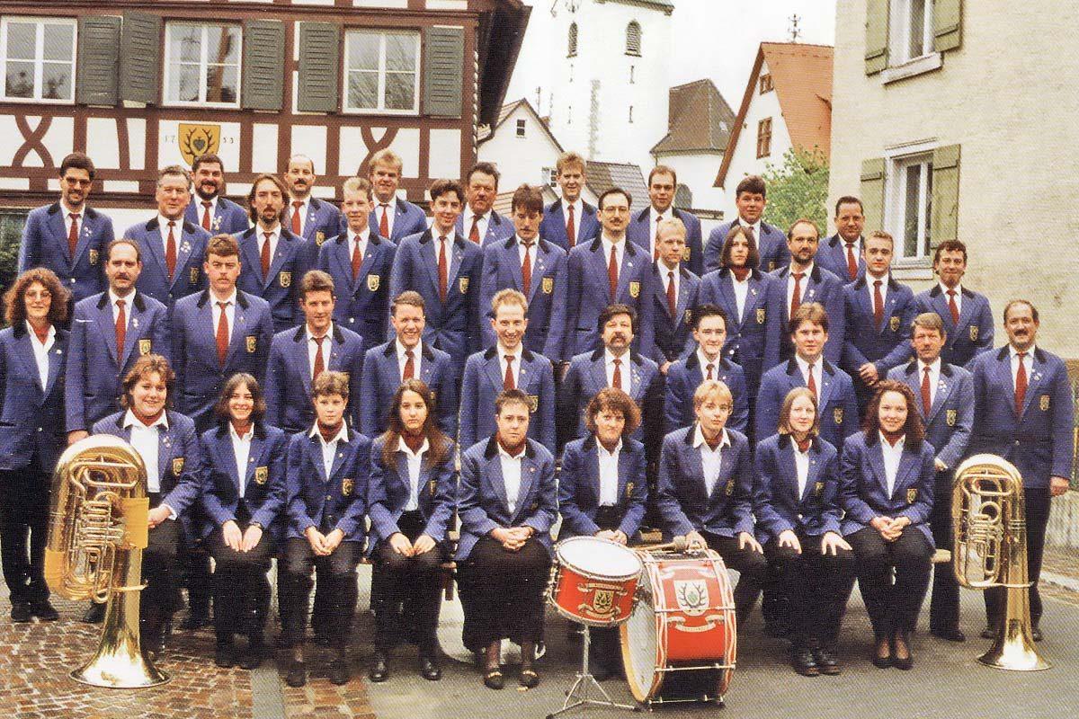 Musikverein im Jahre 1996