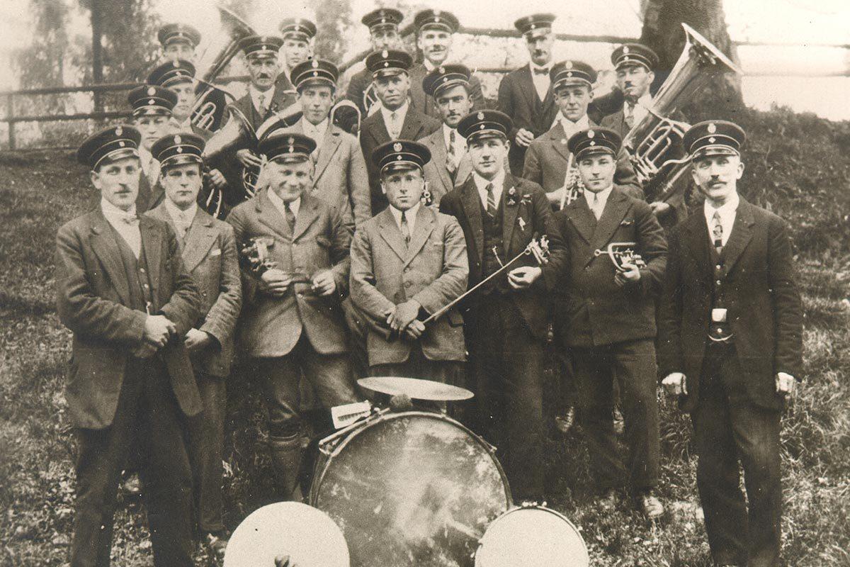 Musikverein Espasingen im Jahr 1926