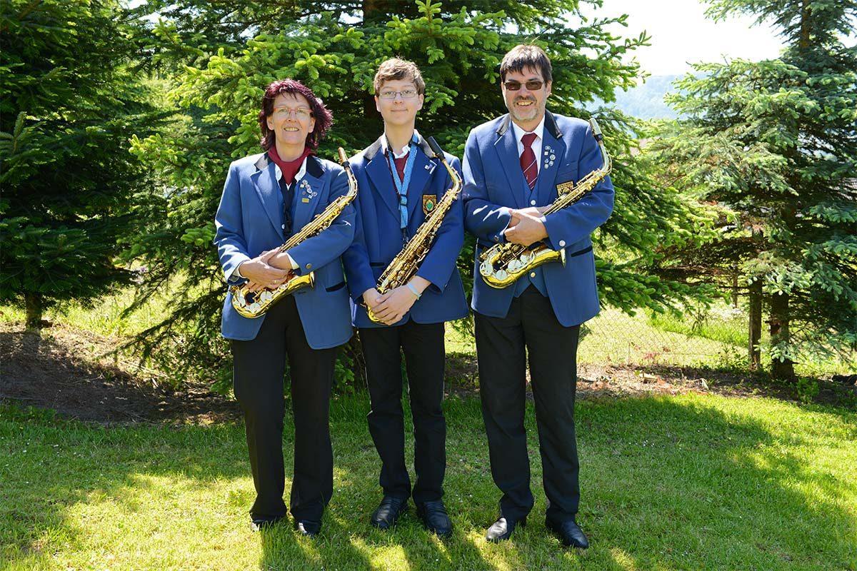 Saxophon Register