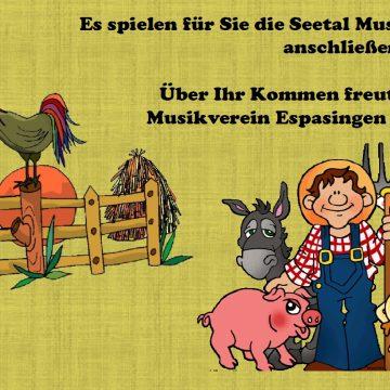 Verrückter Bauernhof beim Musikerball in Espasingen