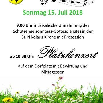 Platzkonzert in Espasingen